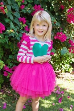 Hootkid Love Tutu Dress - Alternate List Image