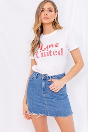 Gilli Love United Tee - Product Mini Image