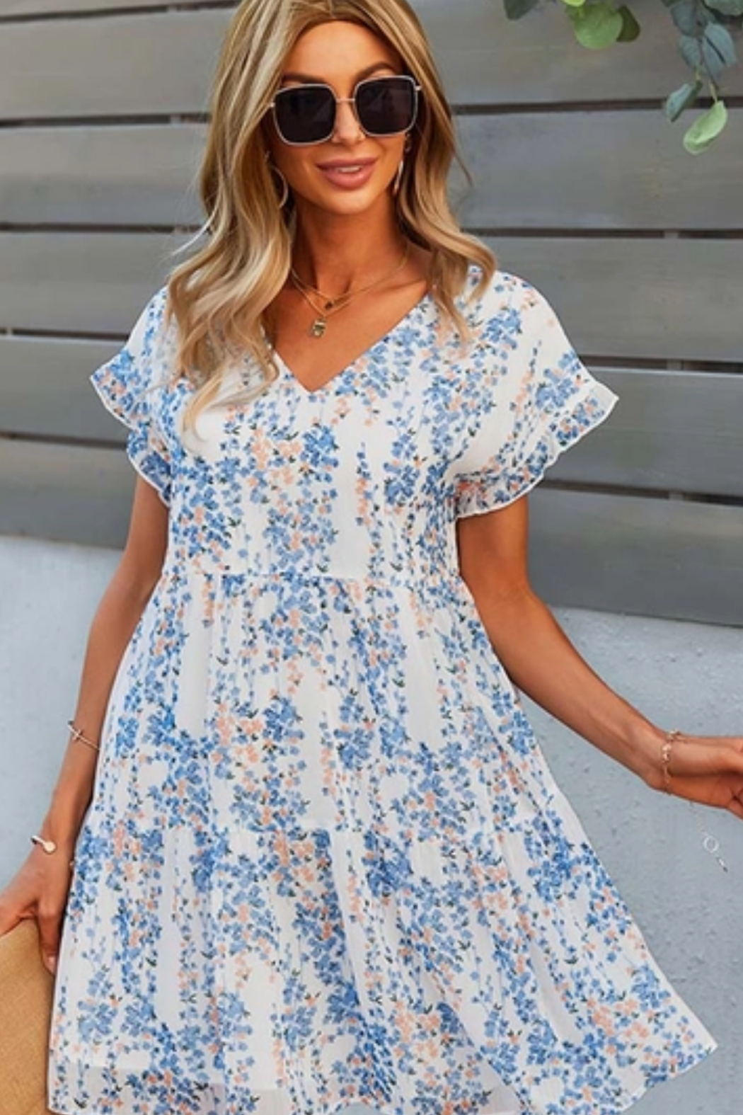 Esley  Love Whatever Dress - Front Cropped Image