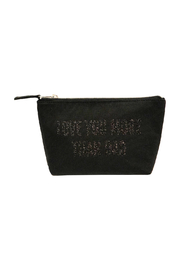 Quilted Koala Love You More Than Dad Makeup Bag - Front cropped