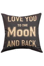 Manual Woodworkers and Weavers Love You Pillow - Front cropped