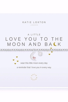 Katie Loxton Love You To The Moon Bracelet - Alternate List Image