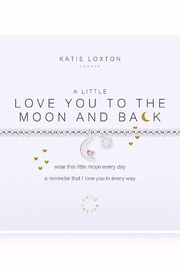 Katie Loxton Love You To The Moon Bracelet - Product Mini Image