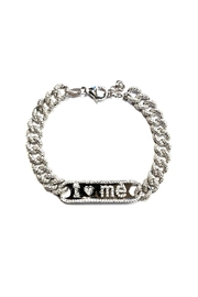 Lets Accessorize Love-Yourself Plate Bracelet - Product Mini Image