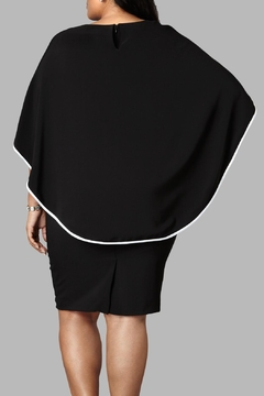 Love By Yona Drape Cape Dress - Alternate List Image