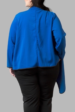 Love By Yona Draped Overpiece- Blue - Alternate List Image