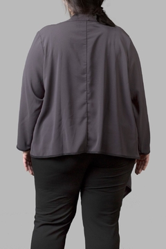 Love By Yona Draped Overpiece- Grey - Alternate List Image