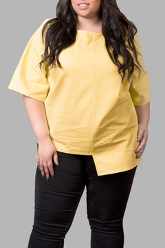 Shoptiques Product: High/low Top-Yellow