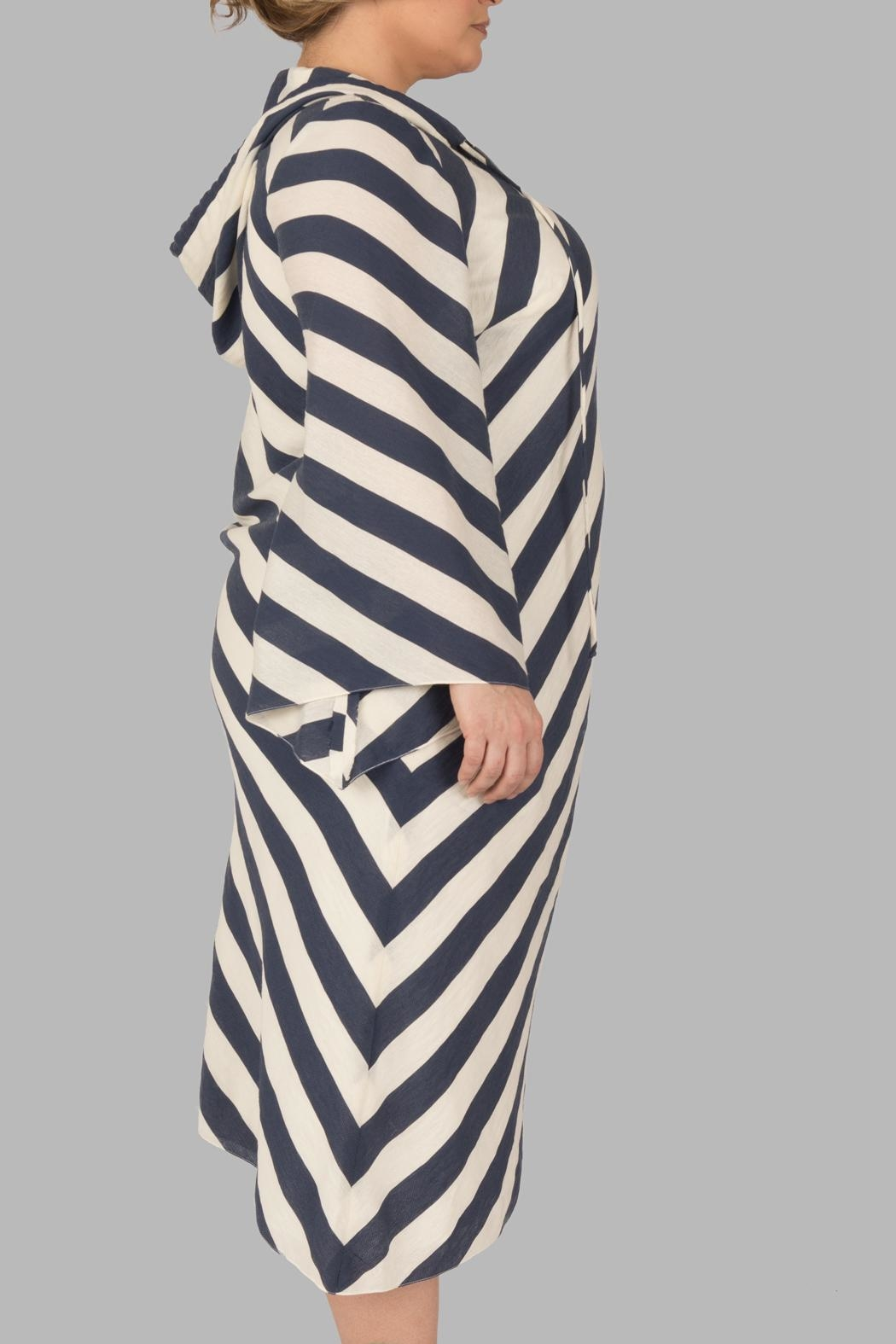 Love By Yona Hooded Getaway Dress - Front Full Image