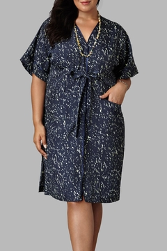 Love By Yona Wrap Shirt Dress - Product List Image