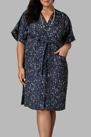 Love By Yona Wrap Shirt Dress - Product Mini Image