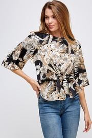 Love Encounter Floral Print Blouse - Product Mini Image