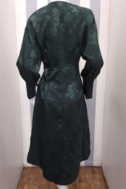 Love Harmony Green Floral Duster - Front full body