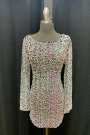 Love Harmony Sequin Pearls Dress - Front cropped