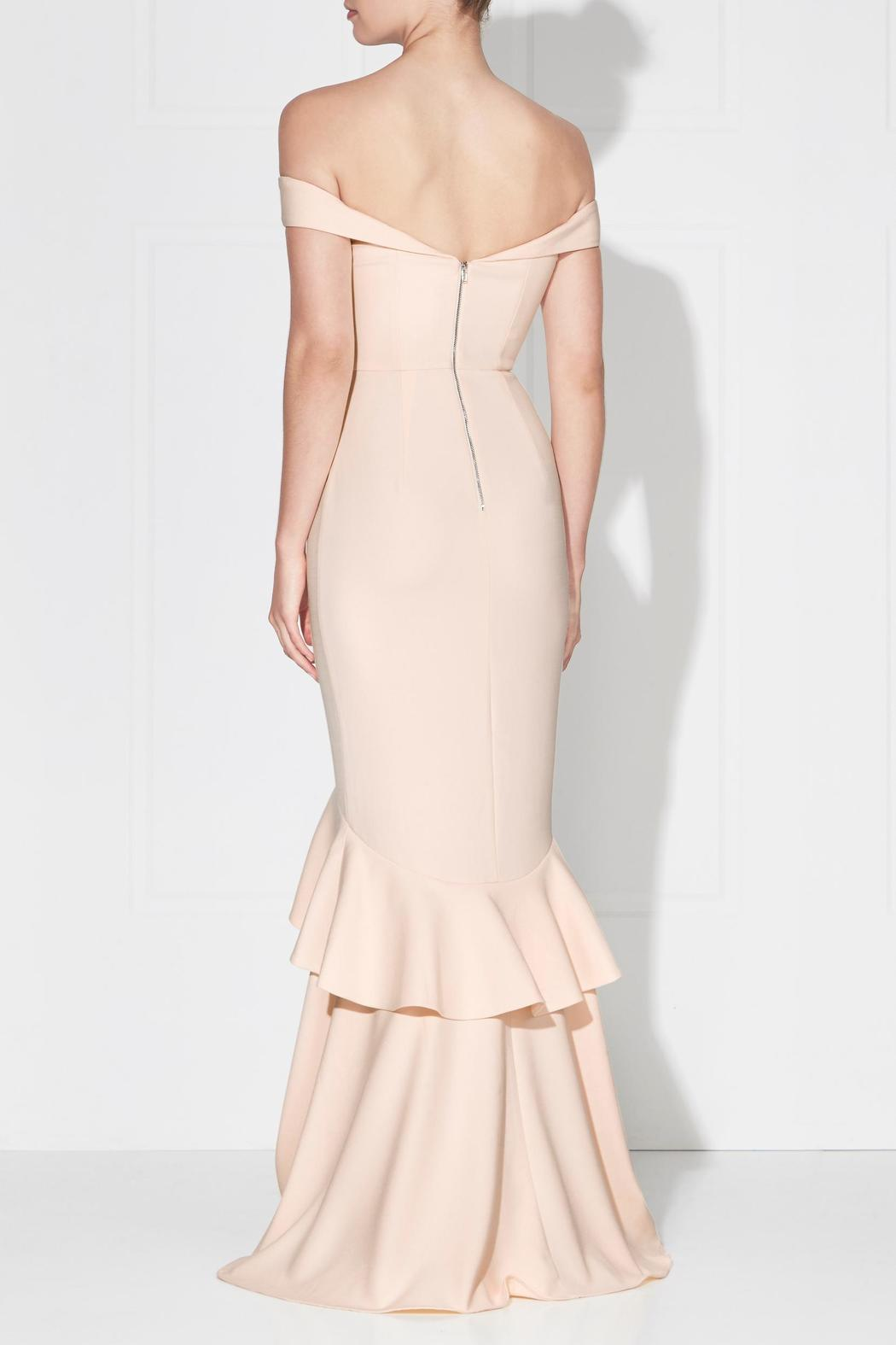 Love Honor Rosetta Gown Creme - Front Full Image