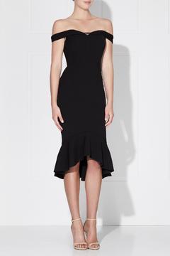 Shoptiques Product: Rosetta Midi Black Dress