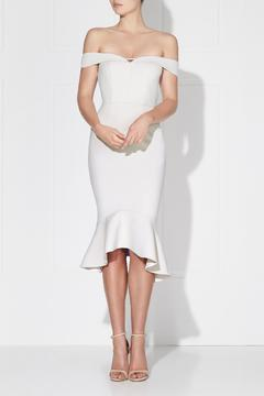 Shoptiques Product: Rosetta Midi Ivory Dress