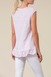 Love in  Asymetrical Ruffle Top - Front full body