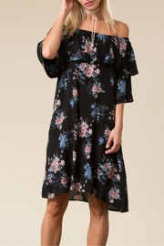 Love in  Black Floral Dress - Product Mini Image