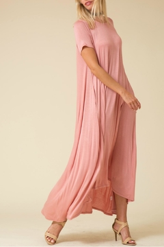 Love in  Blush High Low Maxi - Alternate List Image
