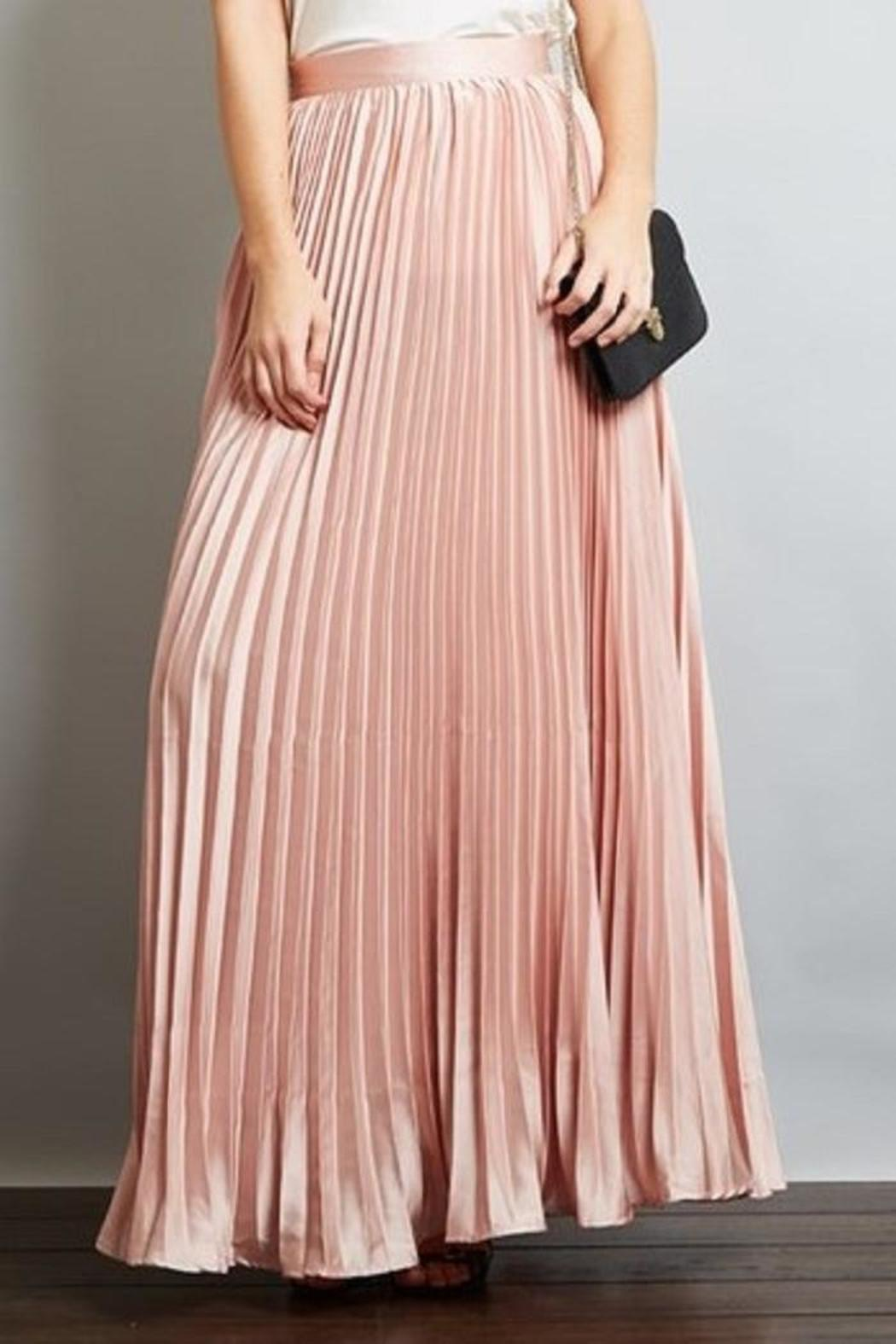 76dee901e Love in Blush Pleated Maxi from Charlotte by Leola & Simone — Shoptiques