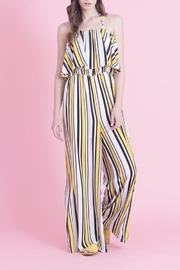 Love in  Classic Stripe Jumpsuit - Front cropped