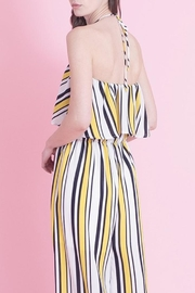Love in  Classic Stripe Jumpsuit - Back cropped