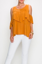 Love in  Cold Shoulder Top - Product Mini Image