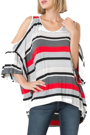 Love in  Cold Shoulder Tunic - Product Mini Image