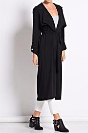 Love in  Crepe Trench Coat - Product Mini Image