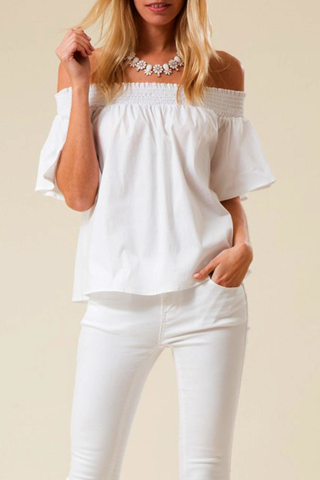 Love in  Off Shoulder Top - Main Image