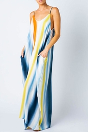 Love in  Open Shoulder Maxi-Dress - Front cropped