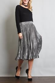 Love in  Pleated Midi Skirt - Product Mini Image