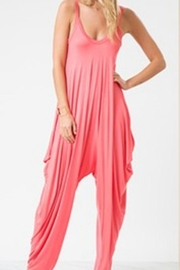 Love in  Sleeveless Harem Jumpsuit - Front cropped