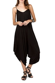 Love in  Solid Harem Jumpsuit - Front cropped