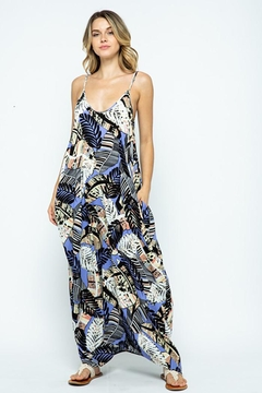 Love in  Spaghetti Strap Harem Maxi Dress - Product List Image