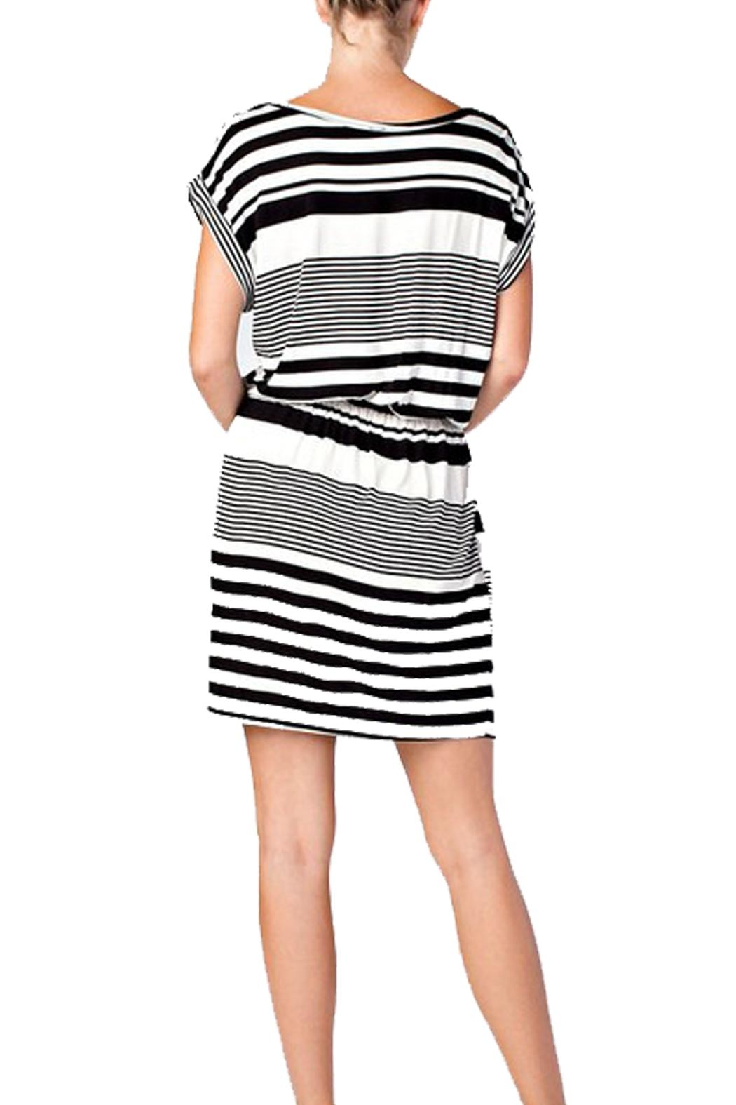 Love in  Striped Dress - Front Full Image