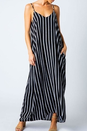 Love in  Striped Harem Maxi-Dress - Product Mini Image