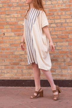Love in  Striped Linen Tunic - Product List Image