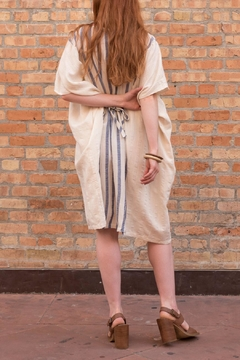 Love in  Striped Linen Tunic - Alternate List Image