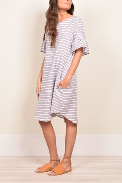 Love in  Striped Midi Dress - Product List Image