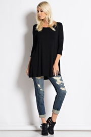 Love in  Usa Black Tunic - Product Mini Image