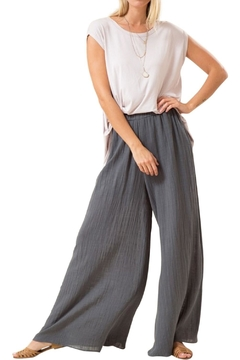 Love in  Wide Leg Cotton Pants - Alternate List Image