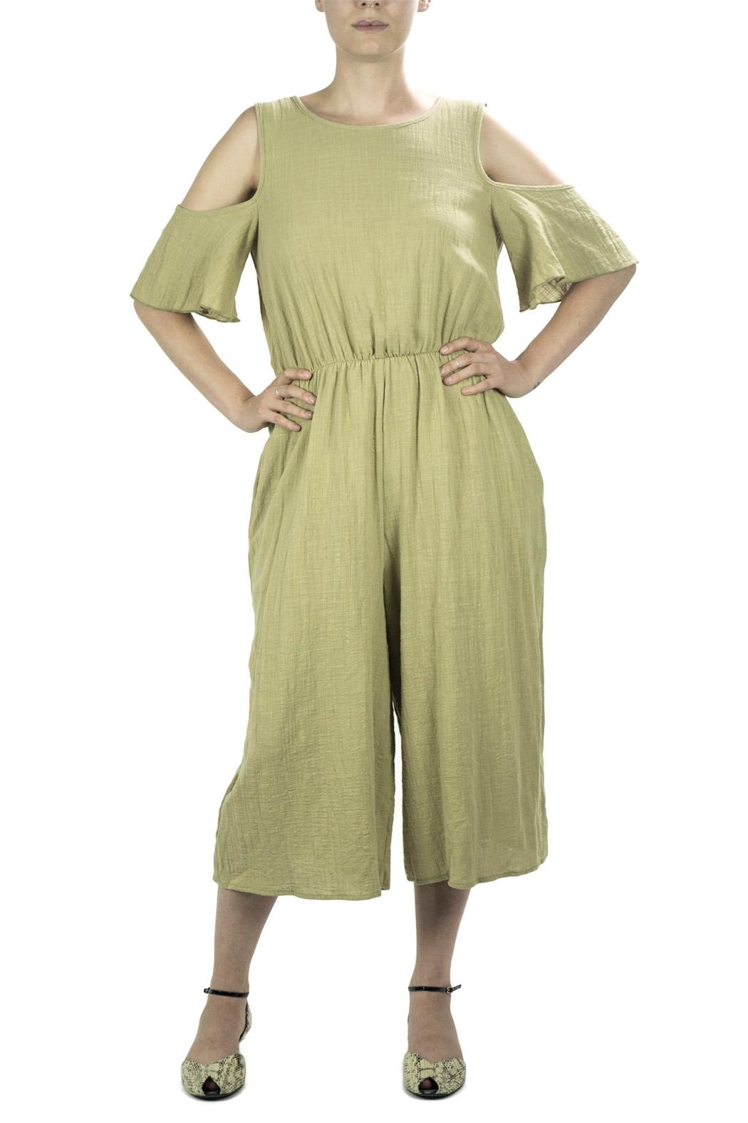 Love in  Wide Leg Jumpsuit - Front Full Image
