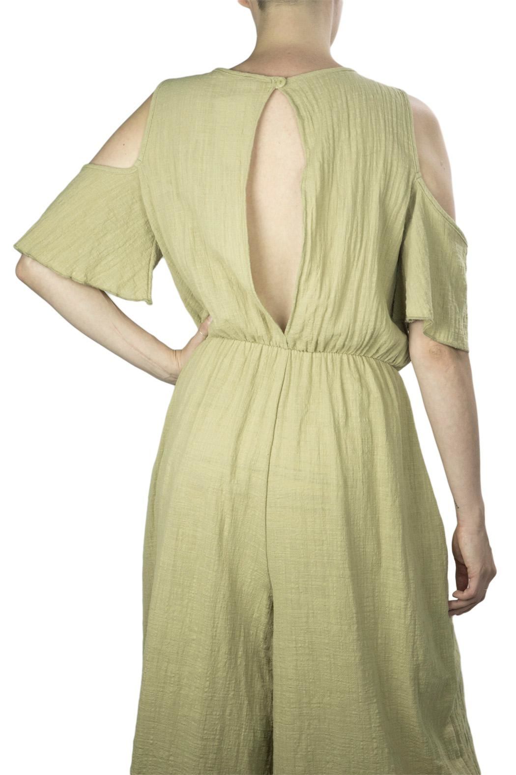 Love in  Wide Leg Jumpsuit - Back Cropped Image