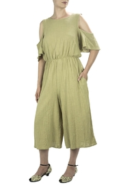 Love in  Wide Leg Jumpsuit - Front cropped