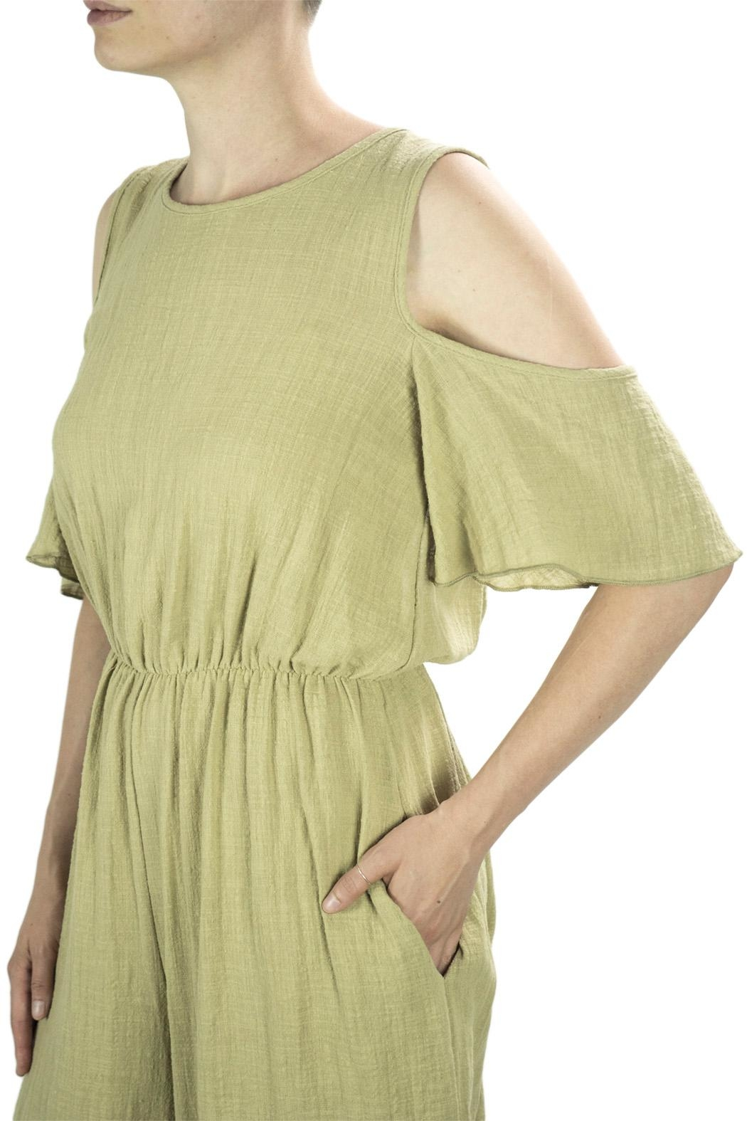Love in  Wide Leg Jumpsuit - Side Cropped Image