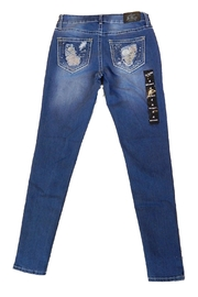Love Indigo Flower Pocket Skinny - Product Mini Image