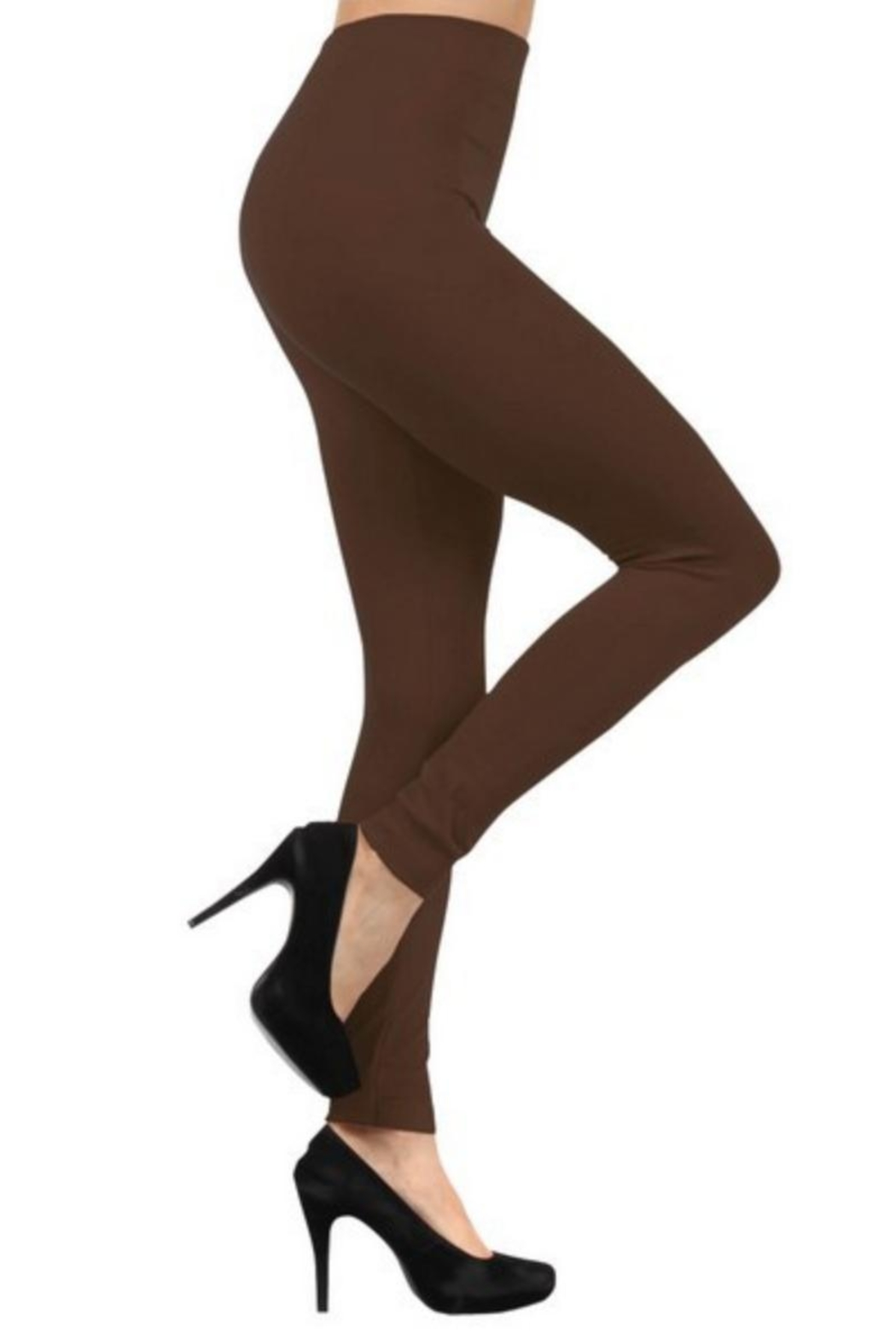 Love It Fleece-Lined Leggings - Front Cropped Image