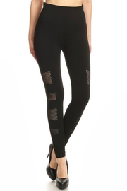 Love It Highwaist Mesh Leggings - Product Mini Image